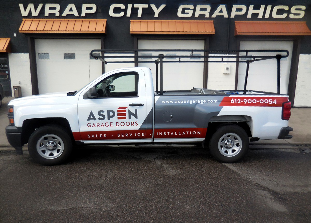 Pickups Large Trucks Amp Trailers Wrap City Graphics