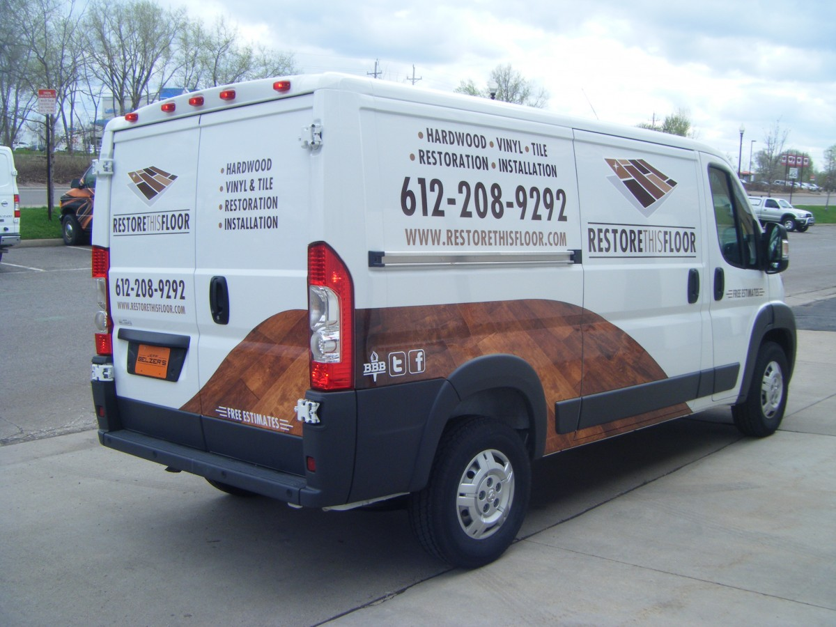 Vans Transits Sprinters Promasters Wrap City Graphics