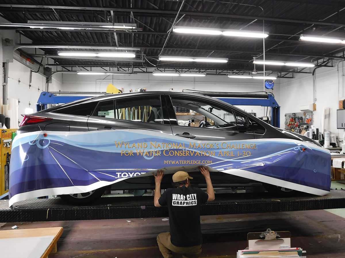 Featured Project Wrap City Graphics