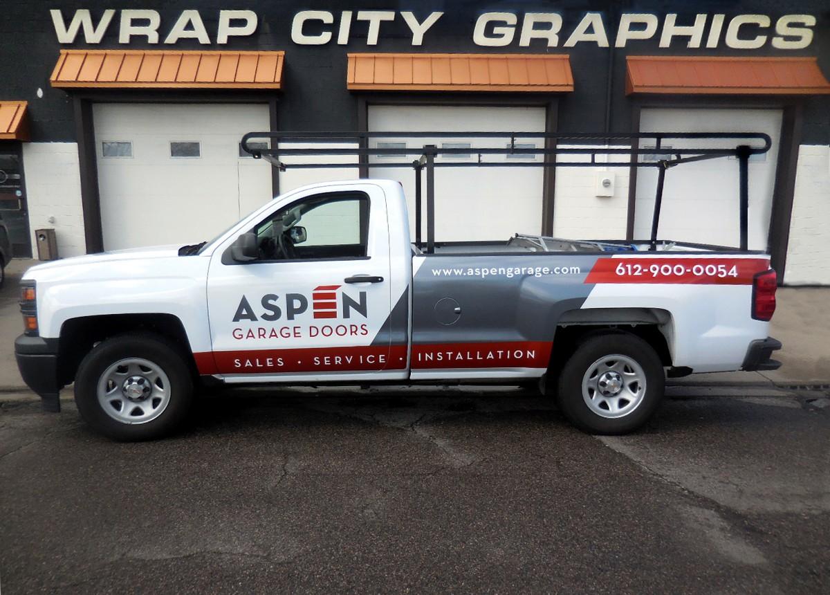 Pickups Large Trucks Amp Trailers Wrap City Graphics