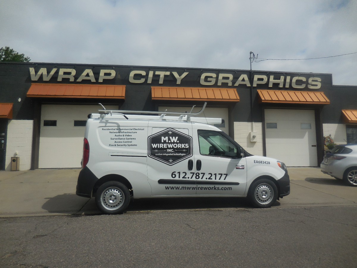 Vans Transits Sprinters Promasters Wrap City Graphics