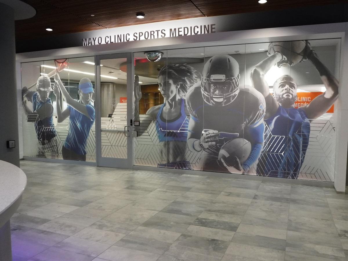 Mayo Executive Health And Sports Medicine Wrap City Graphics